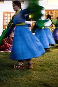 Cultural performance at hotel, Leh.