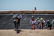 2018 Youth Olympic Games<br /> Buenos Aires, Argentina<br /> Mixed BMX - Race<br /> Motos<br /> SMITH Jessie (NZL)<br /> CLAESSENS Zoe (SUI)<br /> NAGARE Miru (JAP)<br /> NAVES BARRETO Maite (BRA)<br /> BRADFORD Elissa (GBR)