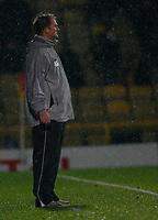 Photo: Richard Lane/Richard Lane Photography. Watford v Blackpool. Coca Cola Championship. 01/11/2008. Simon Grayson impassive