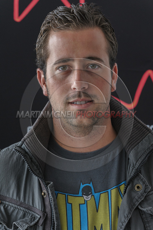 EDINBURGH, SCOTLAND, JUNE 21, 2008: Diego Ojeda attends a photocall during the 62nd annual Edinburgh International Film Festival inside the Point Conference Center on Saturday, June 21, 2008 in Edinburgh, Scotland (Martin McNeil)