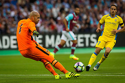 Darren Randolph of West Ham during 2nd Leg football match between West Ham United FC and NK Domzale in 3rd Qualifying Round of UEFA Europa league 2016/17 Qualifications, on August 4, 2016 in London, England.  Photo by Ziga Zupan / Sportida