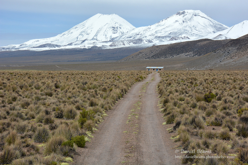 Rural homestead in Sajama National Park, Bolivia