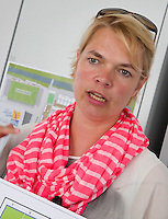 DEN HAAG - Hedwig van Kessel . Rabobank World Cup Hockey 2014 . COPYRIGHT KOEN SUYK