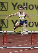 PRETORIA, SOUTH AFRICA, Friday 20 April 2012, Wenda Theron in the women's 400m hurdles during the Yellow Pages Series 3 held at the Absa Tuks stadium..Photo by Roger Sedres/ImageSA/ASA