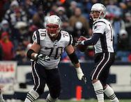 Logan Mankins protects Tom Brady, New England Patriots @ Buffalo Bills, 11 Dec 05, 1pm, Ralph Wilson Stadium, Orchard Park, NY