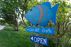 Balnakeil Craft Village, Durness on the North Coast 500 scenic driving route in northern Scotland, UK