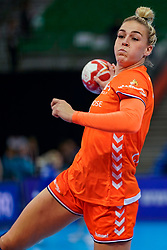 13-12-2019 JAP: Semi Final Netherlands - Russia, Kumamoto<br /> The Netherlands beat Russia in the semifinals 33-22 and qualify for the final on Sunday in Park Dome at 24th IHF Women's Handball World Championship / Jessy Kramer #5 of Netherlands