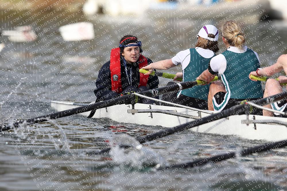 2012.02.25 Reading University Head 2012. The River Thames. Division 1. Maidenhead Rowing Club W.IM2 8+