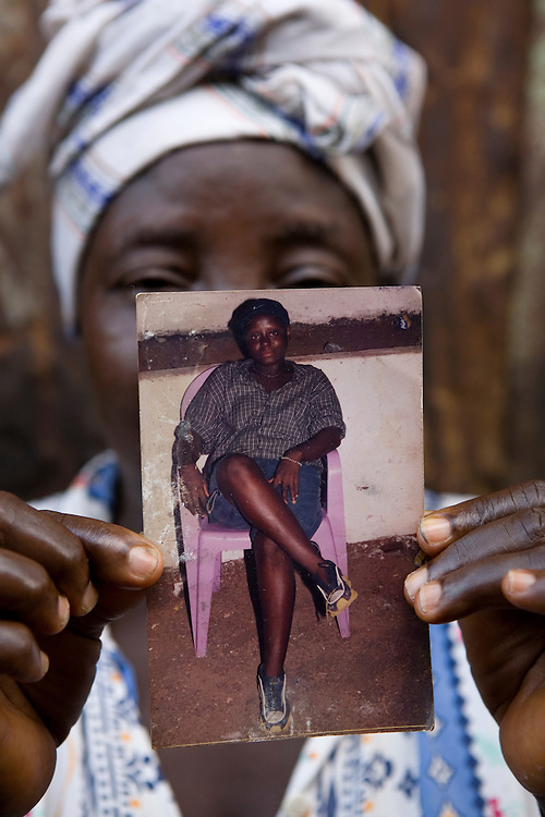 Marie Williams, lost her daughter Mariama Kamara, 22 died 5 days after giving birth to her babay alo Mariama Kamara. in child borth and later also the baby - in church run medical facility. 7 months lateer baby developed a fever and also died. 23