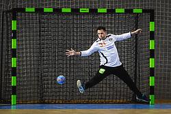 Gerrie Eijlers of Nederland during friendly handball match between Slovenia and Nederland, on October 25, 2019 in Športna dvorana Hardek, Ormož, Slovenia. Photo by Blaž Weindorfer / Sportida