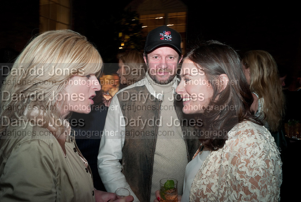 RACHEL JOHNSON; SCOTT YOUNG; KATIE NICOLL, Spectator Life - launch party, Asprey London, 167 New Bond Street, London. 28 March 2012