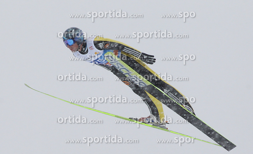 31.12.2011, Olympia Skisprungschanze, Garmisch Partenkirchen, GER, 60. Vierschanzentournee, FIS Ski Sprung Weltcup, Training, im Bild Dimitry VASSILIEV (RUS) // Dimitry VASSILIEV (RUS) during a practice session of 60th Four-Hills-Tournament FIS World Cup Ski Jumping at Olympia Skisprungschanze, Garmisch Partenkirchen, Germany on 2011/12/31. EXPA Pictures © 2011, PhotoCredit: EXPA/ Sven Kiesewetter