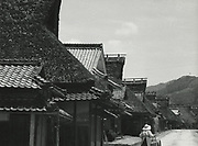 Asano Kiichi<br /> 1914 - 1993<br /> <br /> Traditional farmouses, Taki-gun Village, Hyogo Prefecture, 1950s. <br /> <br /> Vintage gelatin silver print with Asano's red hanko stamp and caption incription in the artist's hand on the reverse. <br /> <br /> Size 6 1/2 in. x 4 3/4 in. (165 mm x 120 mm). <br /> <br /> Condition very good.<br /> <br /> Price ¥80,000<br /> <br /> <br /> <br /> <br /> <br /> <br /> <br /> <br /> <br /> <br /> <br /> <br /> <br /> <br /> <br /> <br /> <br /> <br /> <br /> <br /> <br /> <br /> <br /> <br /> <br /> <br /> .