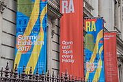The Royal Academy's 249th Summer Exhibition - co-ordinated by Eileen Cooper RA. The hanging committee will consist of Royal Academicians Ann Christopher, Gus Cummins, Bill Jacklin, Fiona Rae, Rebecca Salter and Yinka Shonibare (with show branding based on his work). This year, the Architecture Gallery will be curated by Farshid Moussavi RA. The exhibition is open to the public 13 June – 20 August 2017. London 07 June 2017.