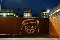 14 JUN 2010, BERLIN/GERMANY:<br /> Baustelle fuer den Neubau des Bundesnachrichtendienstes, BND, Chausseestrasse<br /> IMAGE: 20100614-02-007