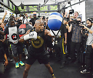Floyd Mayweather jr Hosts Las Vegas Media Workout - 10 Aug 2017