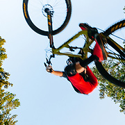 Jeff Brines rides the new Hightower LT from Santa Cruz Bicycles.