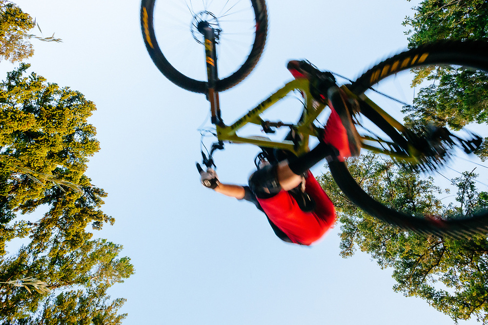 Jeff Brines rides the new Hightower LT from Santa Cruz Bicycles.