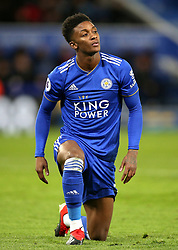 Leicester City's Demarai Gray during the Premier League match at the King Power Stadium, Leicester.
