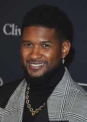 BEVERLY HILLS, LOS ANGELES - CALIFORNIA, USA - JANUARY 25: Recording Academy and Clive Davis 2020 Pre-GRAMMY Gala held at The Beverly Hilton Hotel on January 25, 2020 in Beverly Hills, Los Angeles, California, United States. 25 Jan 2020 Pictured: Usher. Photo credit: Xavier Collin/Image Press Agency/MEGA TheMegaAgency.com +1 888 505 6342