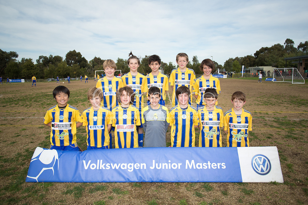Beaumaris Soccer Club. Volkswagen Junior Masters Australia. Eastern Lions Soccer Club, Melbourne, Victoria, Australia. 08/07/2012. Photo By Lucas Wroe/Winkipop Media