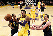 Basketball: 20171010 Lakers vs Jazz