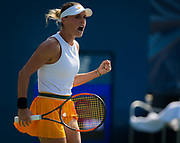 Ana Bogdan of Romania in action during her second-round match at the 2018 US Open Grand Slam tennis tournament, at Billie Jean King National Tennis Center in Flushing Meadow, New York, USA, August 29th 2018, Photo Rob Prange / SpainProSportsImages / DPPI / ProSportsImages / DPPI