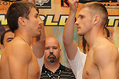 August 31, 2012: Gennady Golovkin vs Grzegorz Proksa Weigh-In
