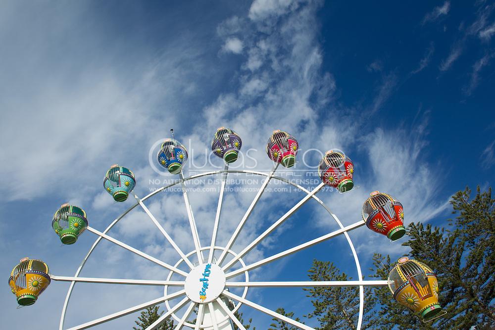 The Ferris Wheel. Glenelg, Adelaide, South Australia, Australia. 13/01/2012. Photo By Lucas Wroe.