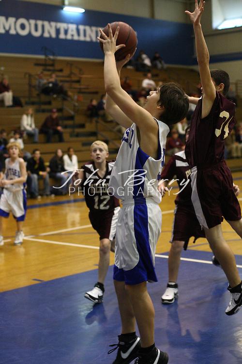 Wetsel Boys Basketball.vs Luray.1/3/08