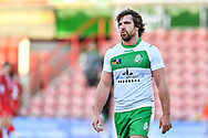 11th November 2018 , Racecourse Ground,  Wrexham, Wales ;  Rugby League World Cup Qualifier,Wales v Ireland ; Tyrone McCarthy of Ireland <br /> <br /> <br /> Credit:   Craig Thomas/Replay Images