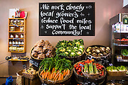 The local fruit and veg shop supplies locally grown produce. WREN have built rapid community support for renewables in an 'ordinary' town.