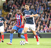 Juan Sara and Hiram Boateng - Crystal Palace v Dundee - Julian Speroni testimonial match at Selhurst Park<br /> <br />  - © David Young - www.davidyoungphoto.co.uk - email: davidyoungphoto@gmail.com