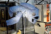 Perspreview 50 jaar Koninklijk Paleis Amsterdam.<br /> <br /> Op de foto: Het ruimtepak van astronout Wubbo Ockels