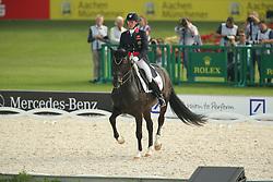 Bigwood, Fiona (GBR), Atterupgaards Orthilia<br /> Aachen - Europameisterschaften 2015<br /> Grand Prix de Dressage 1. Qualifikation<br /> © www.sportfotos-lafrentz.de/Stefan Lafrentz
