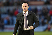 Burnley Manager Sean Dyche during the Sky Bet Championship match between Burnley and Cardiff City at Turf Moor, Burnley, England on 5 April 2016. Photo by Simon Brady.