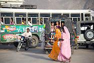 A busy street inPushkar, Rajasthan, India