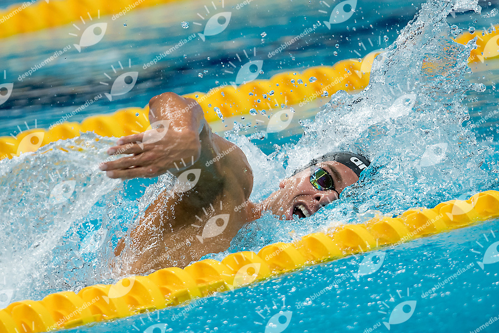 PALTRINIERI Gregorio ITA  gold medal<br /> 1500 freestyle men<br /> swimming  finals<br /> day 17  30/07/2017 <br /> XVII FINA World Championships Aquatics<br /> Duna Arena Budapest Hungary July 14th - 30th 2017 <br /> Photo &copy; A. Masini/Deepbluemedia/Insidefoto