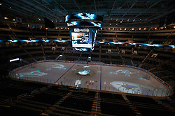 November 9, 2010; San Jose, CA, USA; General view of HP Pavilion before the game between the San Jose Sharks and the Anaheim Ducks. Mandatory Credit: Jason O. Watson / US PRESSWIRE