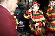 """Some boys also take part in Podence Carnival following older friends as an initiation to grow up as men. Drinking alcohol is part of the ritual of these children also know as """"facanitos""""."""