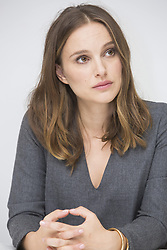 November 11, 2016 - Hollywood, California, U.S. - NATALIE PORTMAN promotes the movie 'Jackie' (2016). Natalie Portman (born June 9, 1981 Jerusalem) is an actress, producer and director with dual American and Israeli citizenship. Her first role was in the 1994 action thriller Leon: The Professional, opposite Jean Reno. She was later cast as Padme Amidala in the Star Wars prequel trilogy (released in 1999, 2002 and 2005). Her Alma mater is Harvard University. Upcoming release: The Death and Life of John F. Donovan (2018), Weightless (2017), Annihilation (2017), The Heyday of the Insensitive Bastards (2017), We Are All Completely Beside Ourselves (TV Mini-Series) (2016), Planetarium (2016). (Credit Image: © Armando Gallo/Arga Images via ZUMA Studio)