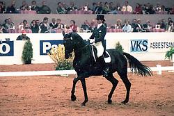 Theodorescu Monica, GER, Arrak xx<br /> Indoor Brabant - 's Hertogenbosch 1997<br /> © Hippo Foto - Dirk Caremans