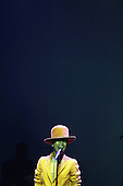 Erykah Badu perfoms at Nokia Live in LA