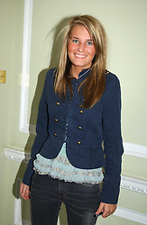 MISS VICTORIA VON WESTENHOLTZ at the AJM International Publishing Party to celebrate 4 years as publishers of PrivatAir Magazine and the Cartier International Polo Magazine held at Rooms Eleven, 11 Grosvenor Place, London on 24th May 2005.<br /><br />NON EXCLUSIVE - WORLD RIGHTS