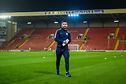 Sean Maguire (24) of Preston North End FC arriving at Oakwell Stadium before the EFL Sky Bet Championship match between Barnsley and Preston North End at Oakwell, Barnsley, England on 21 January 2020.