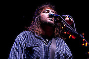 Seether performing at the Q101 Jamboree at the First Midwest Bank Amphitheater in Tinley Park, IL on June 4, 2011