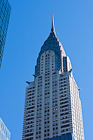 Chrysler Building skyscraper in New york City in October 2008