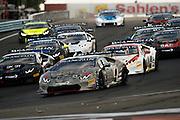 June 30- July 3, 2016: Round 3/4 - Watkins Glen, Race start for round 3 at Watkins Glen, #1 Shinya Michimi, Prestige Performance, Lamborghini Paramus (Pro)