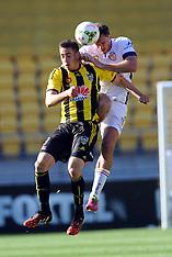 Wellington-Football, A-League, Phoenix v Perth Glory, Oct 12