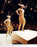 Philip Treacy fashion show. 21/2/99. &copy; Copyright Photograph by Dafydd Jones<br /> 66 Stockwell Park Rd. London SW9 0DA Tel 0171 733 0108